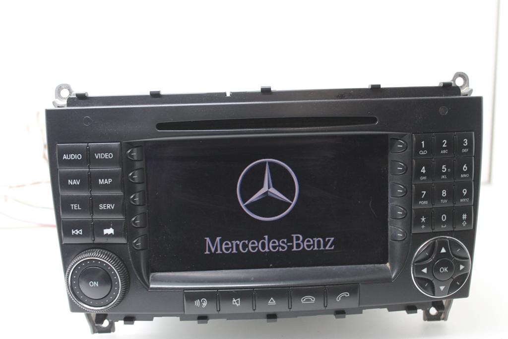mercedes w209 clk navigationssystem navigation navi radio. Black Bedroom Furniture Sets. Home Design Ideas